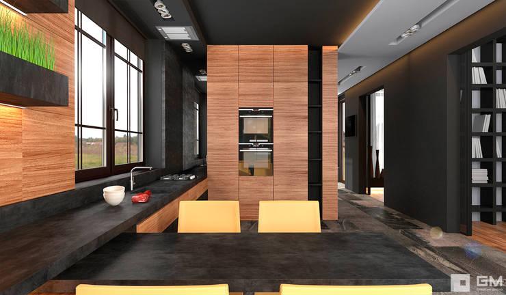 Интерьер дома в современном стиле : Кухни в . Автор – GM-interior,