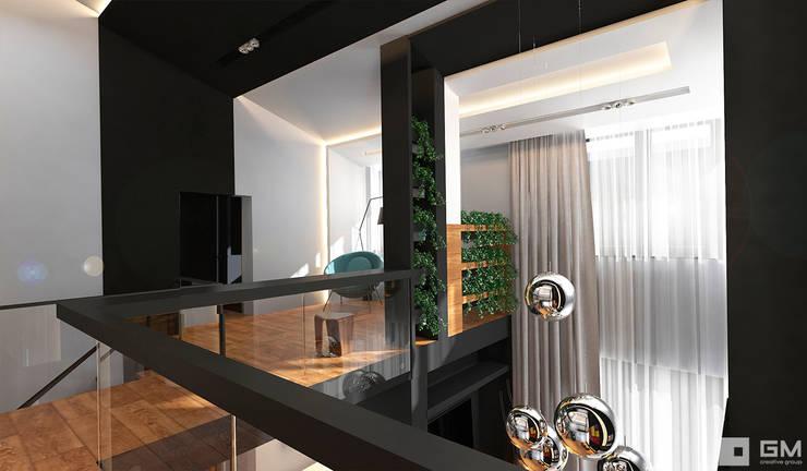 Интерьер дома в современном стиле : Коридор и прихожая в . Автор – GM-interior,