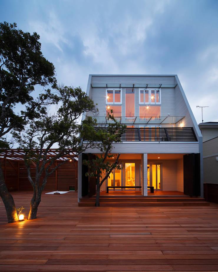 白浜の別荘: 一級建築士事務所 増田寿史建築事務所が手掛けた家です。,