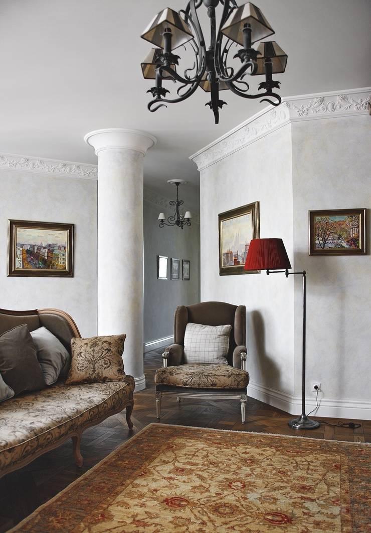 Квартира на Неженской: Гостиная в . Автор – ANIMA