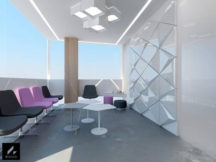 Sala de Espera: Clínicas de estilo  de AG INTERIORISMO