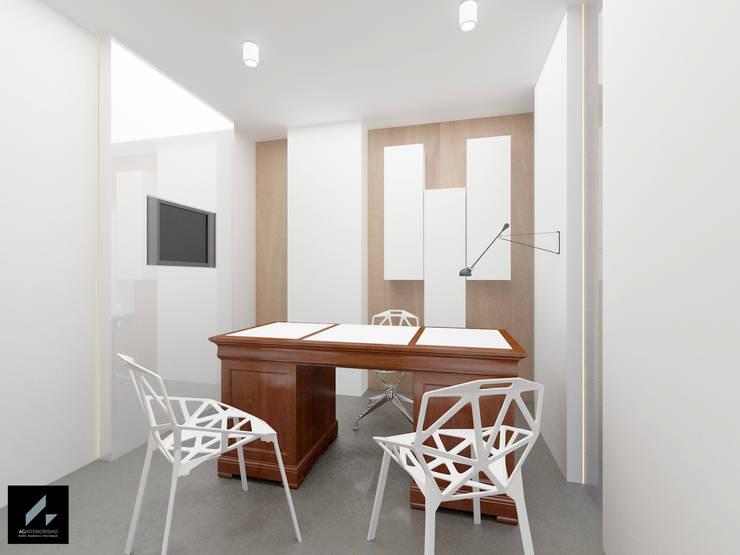 Despacho: Clínicas de estilo  de AG INTERIORISMO