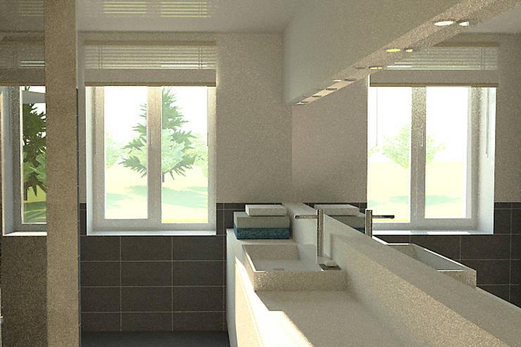 Salle de bain: Salle de bains de style  par APMS architectes