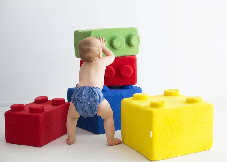 Poducha LEGO: styl , w kategorii  zaprojektowany przez NOOBOO,Nowoczesny