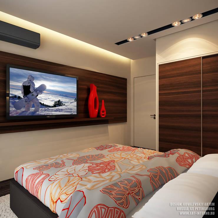 Спальня: Спальни в . Автор – ART-INTERNO