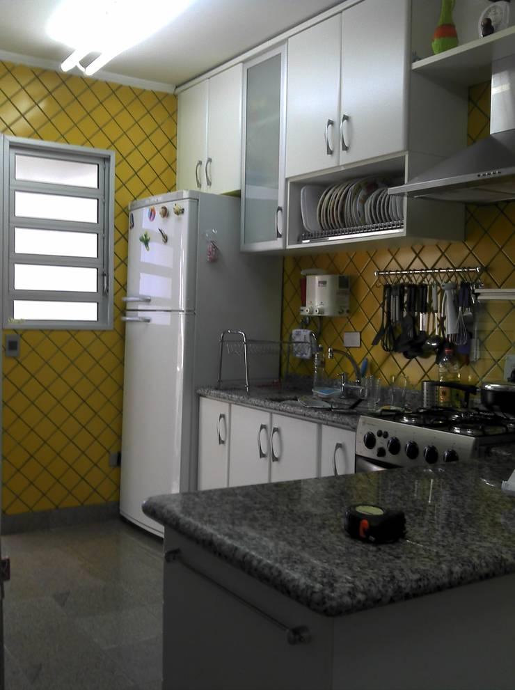 cozinha antes da transformação:  de estilo  por 2d arquitetura decoração e design