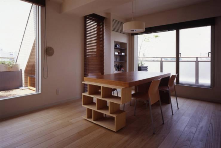 新築マンションリノベーション(東京 世田谷): Style is Still Living ,inc.が手掛けたダイニングです。