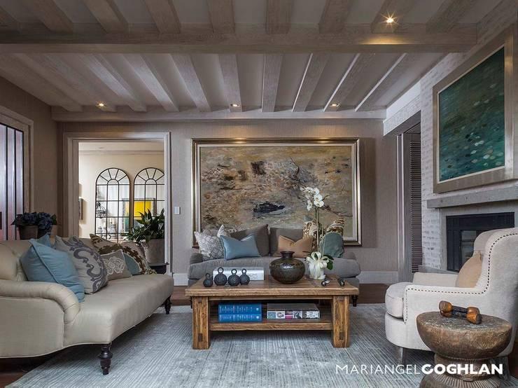 Living room by MARIANGEL COGHLAN
