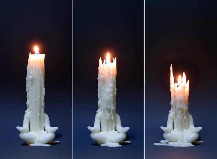 Candle man – meditates: 앤드의  가정 용품