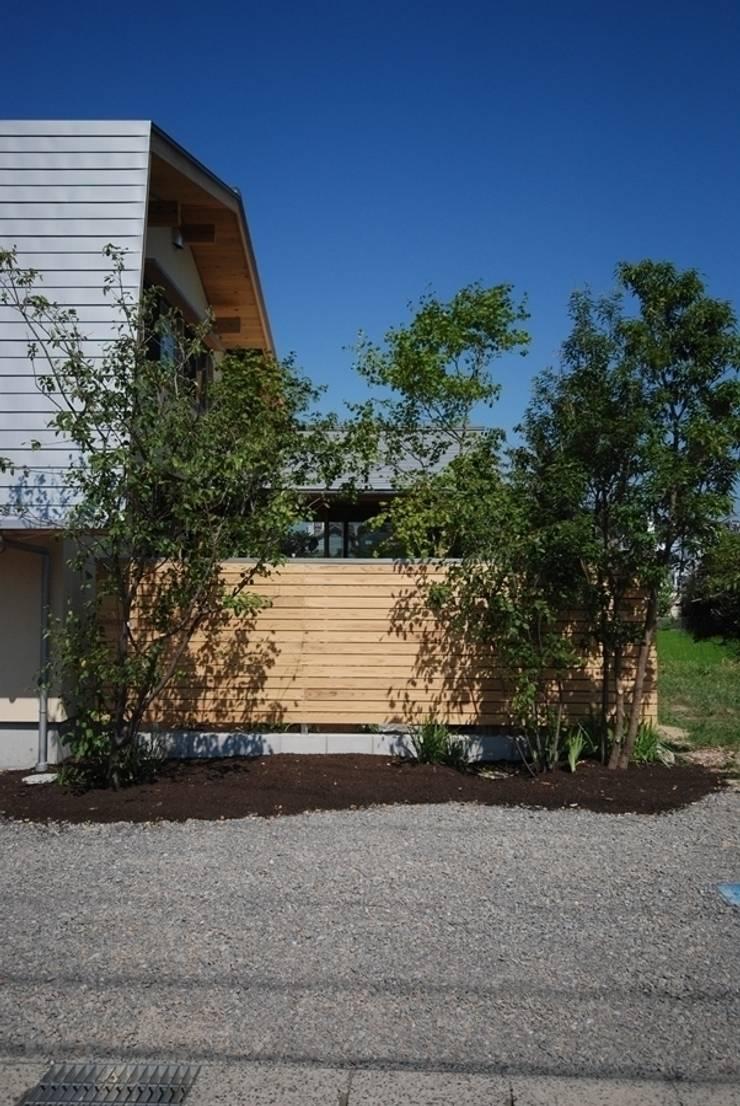 留木の家: 神谷建築スタジオが手掛けた家です。