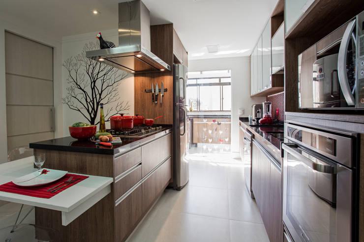 cozinha finalizada   :  de estilo  por 2d arquitetura decoração e design