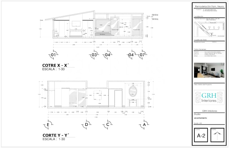 FAMILIA NEYRA :  de estilo  por GRH Interiores