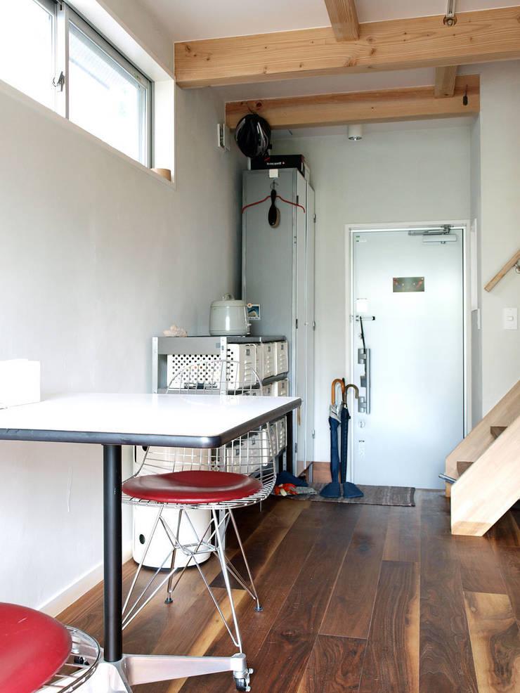 【LWH002】ダイニングキッチン: 志田建築設計事務所が手掛けたダイニングです。,インダストリアル