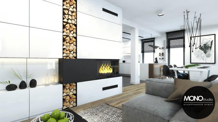 Salon moderne par MONOstudio Moderne