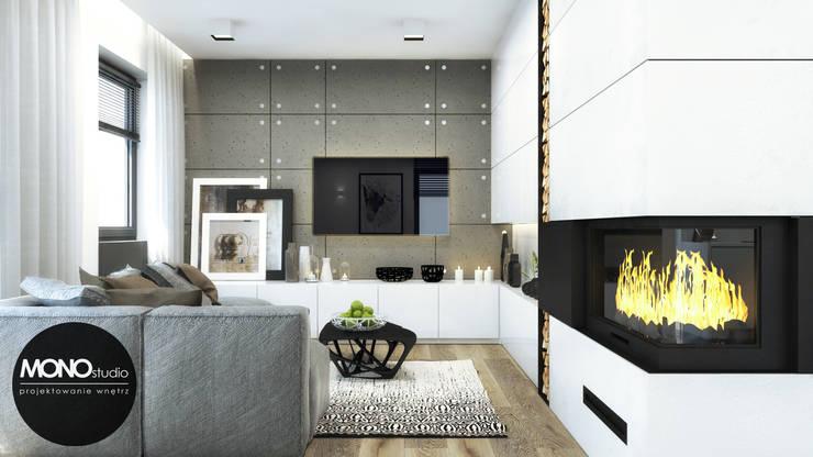 Moderne Wohnzimmer von MONOstudio Modern