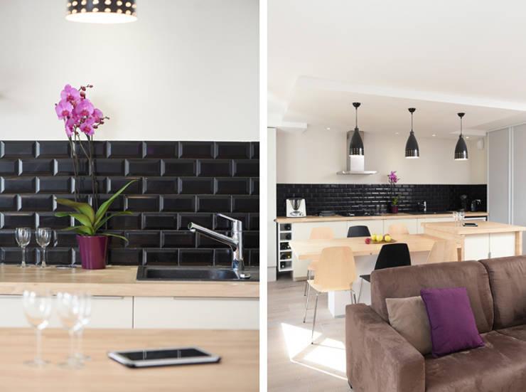 Kitchen by Marion Lanoë Architecte d'Intérieur