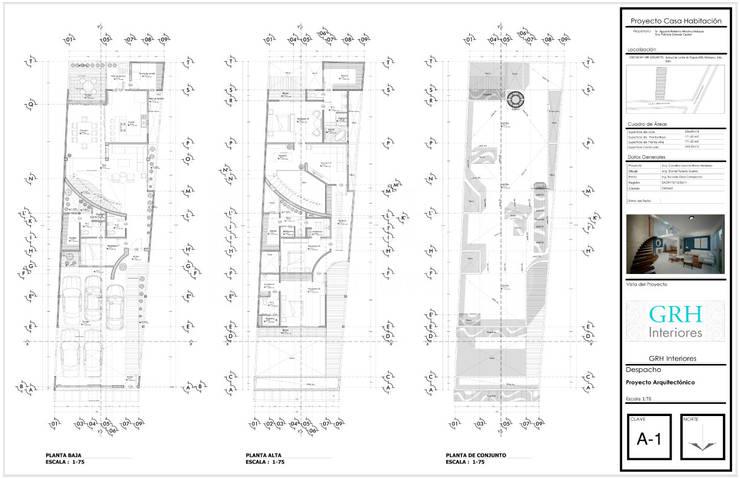 PROYECTO Medina:  de estilo  por GRH Interiores