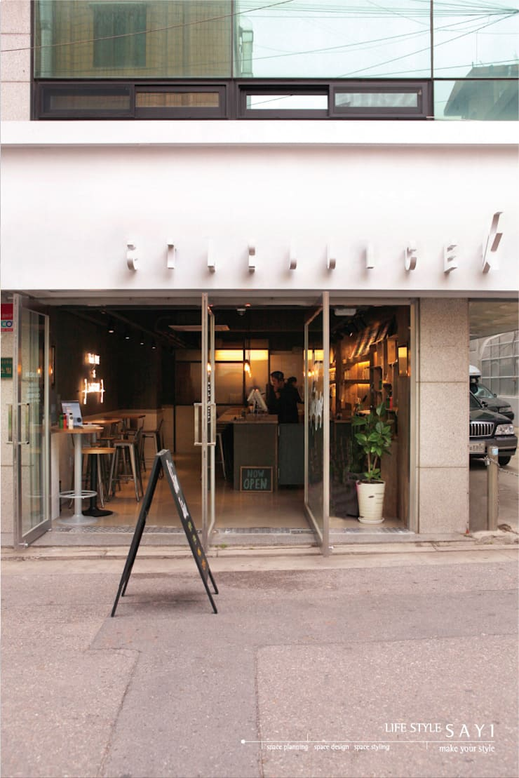 Locales gastronómicos de estilo  de lifestyle-sayi, Moderno