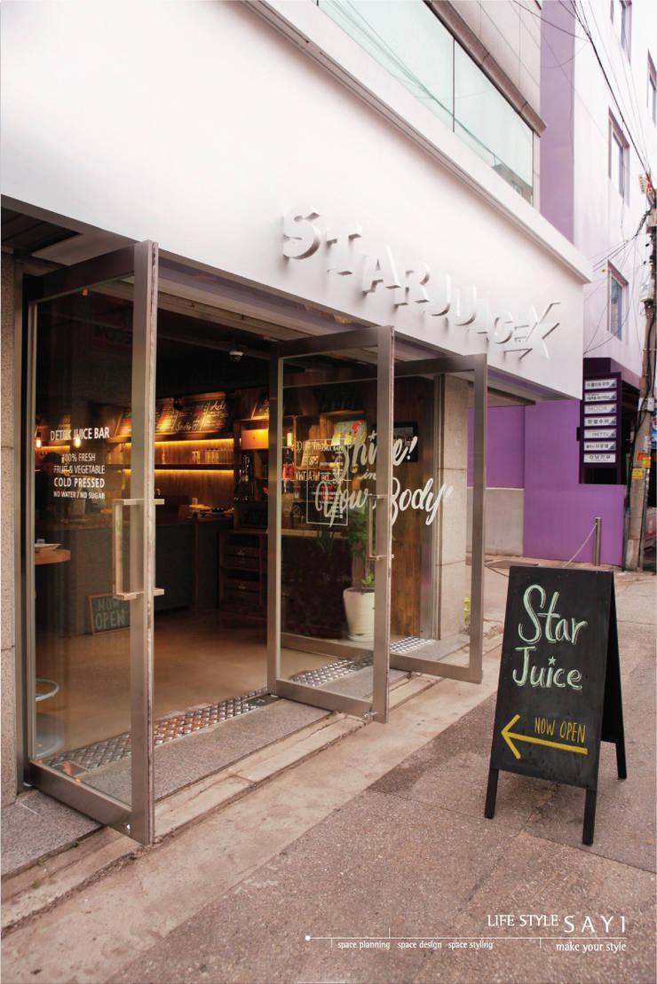 S T A R J U I C E  BY  LIFESTYLESTYLE S A Y I: lifestyle-sayi의  레스토랑,모던