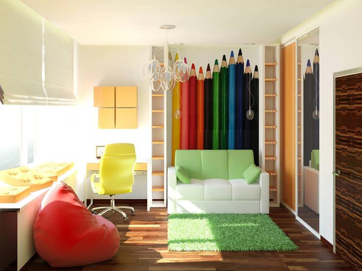 детская: Детские комнаты в . Автор – ООО 'Студио-ТА'