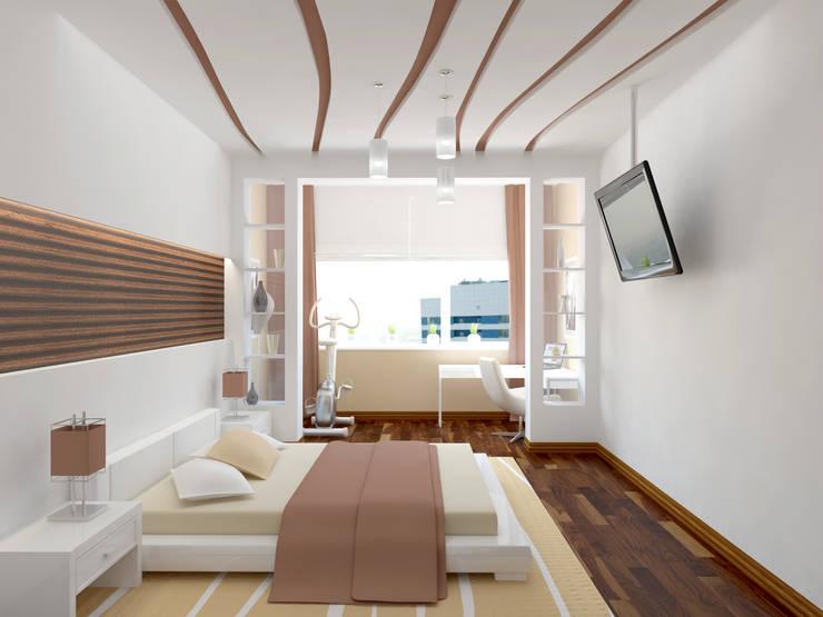 спальня: Спальни в . Автор – ООО 'Студио-ТА'