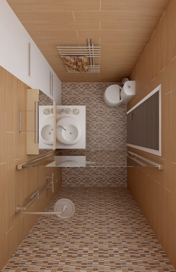 ванная: Ванные комнаты в . Автор – ООО 'Студио-ТА'