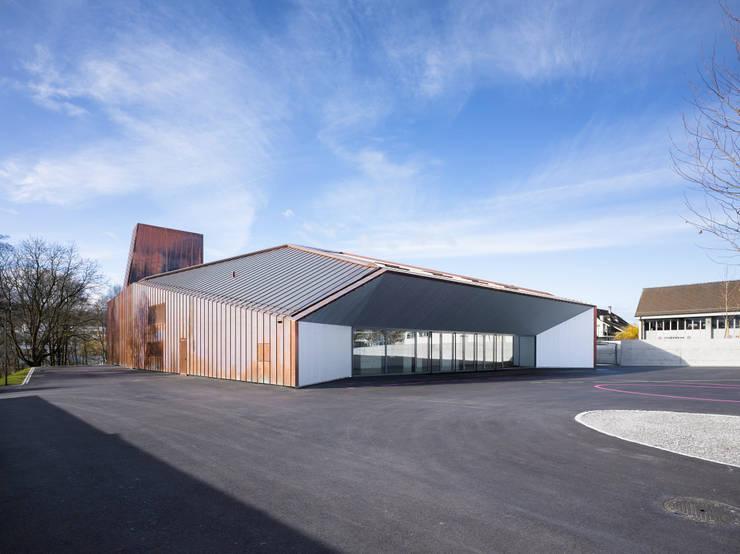 Festhütte Amriswil:  Veranstaltungsorte von Müller Sigrist Architekten AG