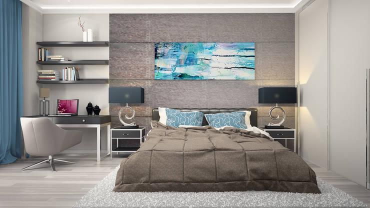 Берег Калифорнии: Спальни в . Автор – VITTA-GROUP