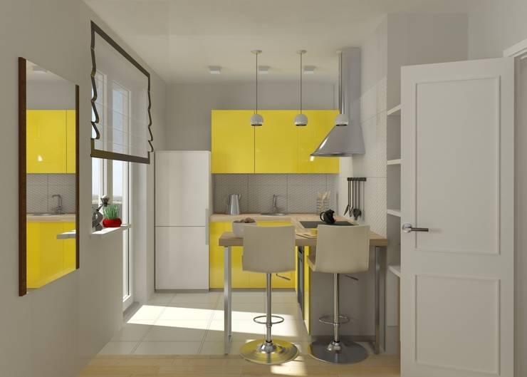 Кухня в . Автор – PLANiUM