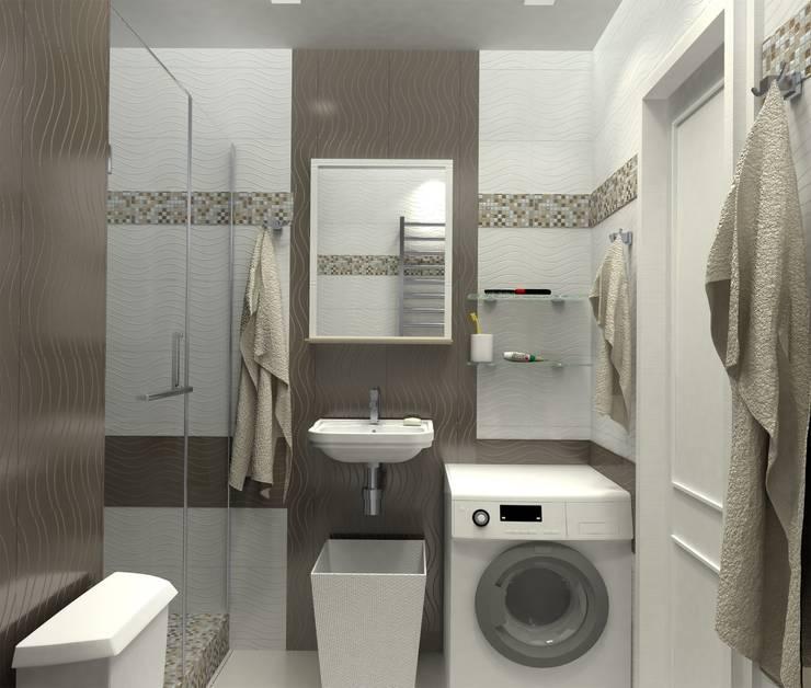 Ванная комната в . Автор – PLANiUM
