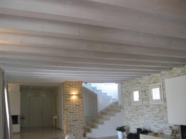 Solai in legno con illuminazione a led von veneta tetti homify