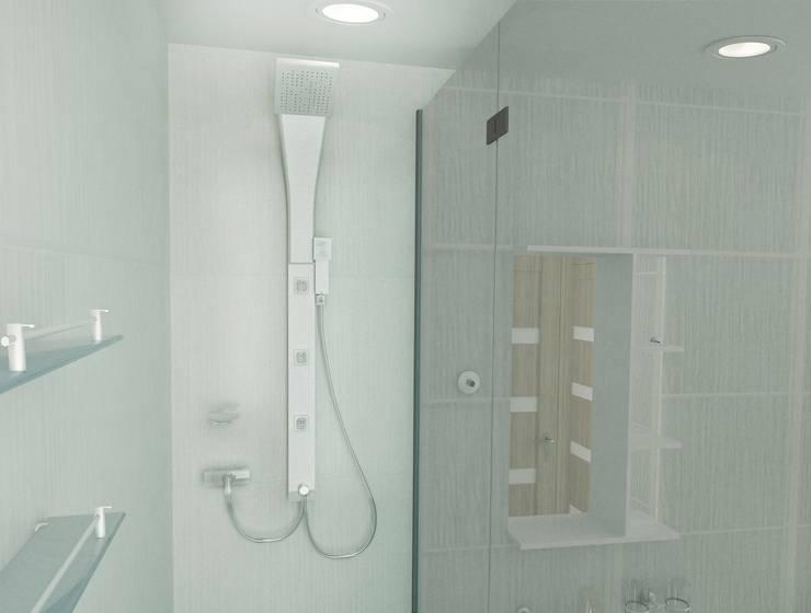 Ванные комнаты в . Автор – PLANiUM