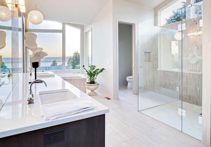 ห้องน้ำ by Saxoboard Wellness & Duschsysteme GmbH