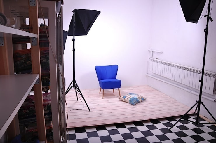 pracownia rzeczy (nie)pospolitych: styl , w kategorii Domowe biuro i gabinet zaprojektowany przez Pracownia Reborn