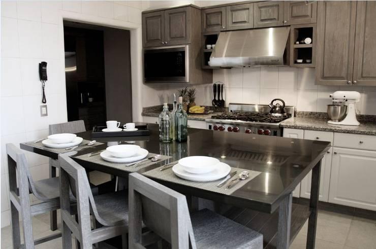 مطبخ تنفيذ Quinto Distrito Arquitectura