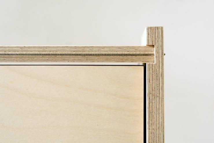 Kastsysteem Kabel detail:  Woonkamer door sandra nielen