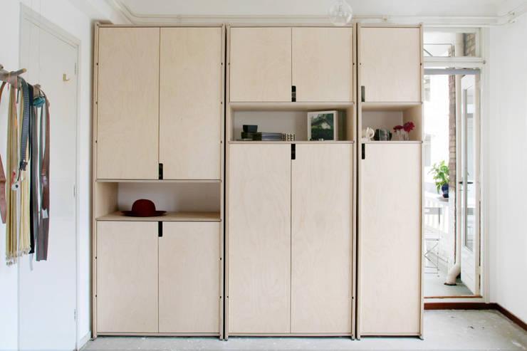 Kastsysteem Kabel met deuren:  Slaapkamer door sandra nielen
