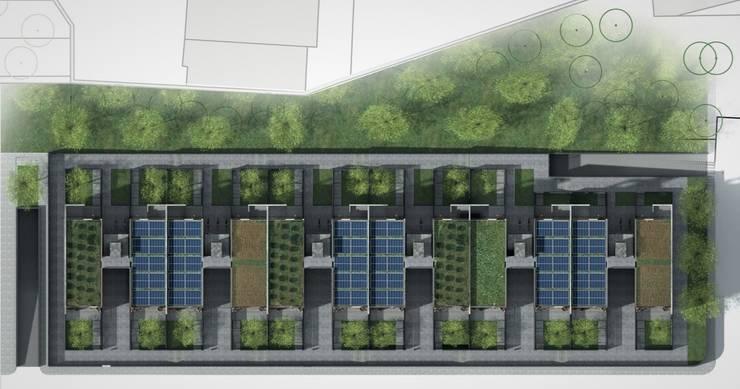SOCIAL HOUSING – CONCORSO DI IDEE: Case in stile  di Nau Architetti,