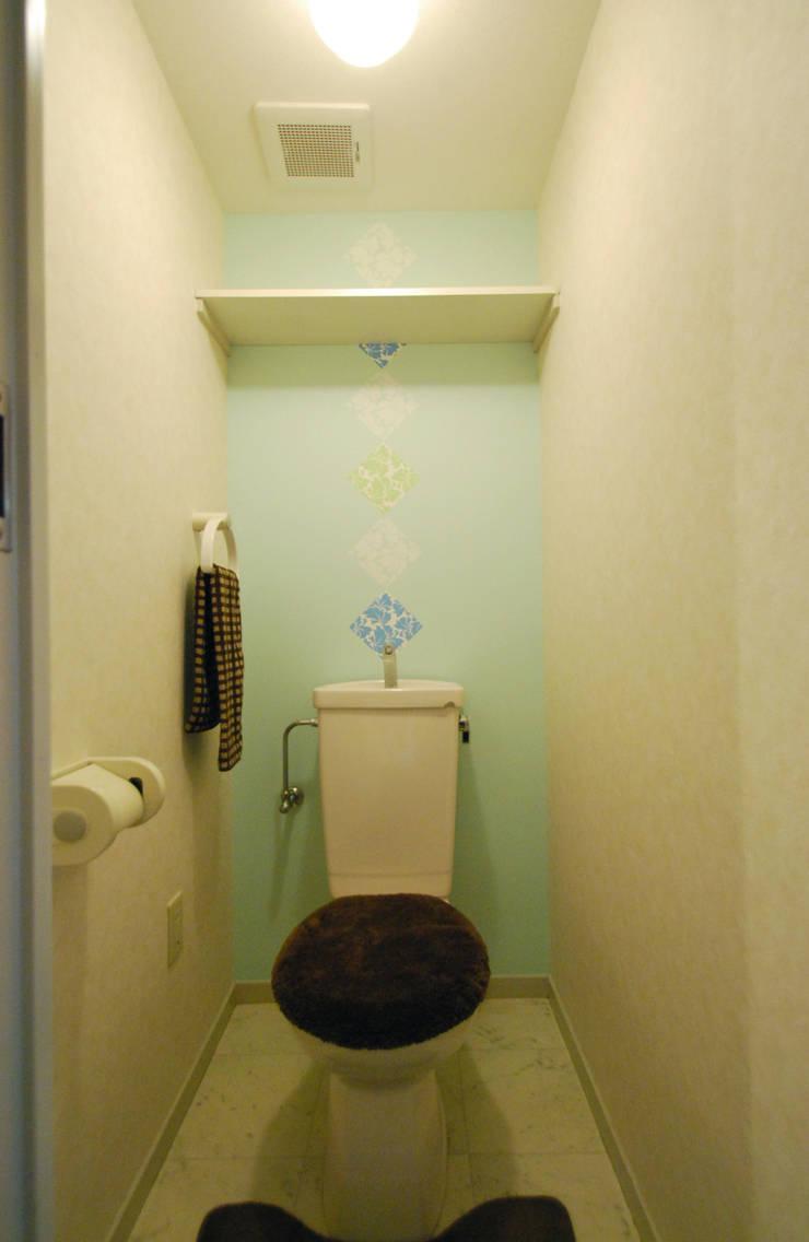 オーダーメイド壁紙(After①): Deco Cloth(デコクロス)が手掛けた壁&床です。