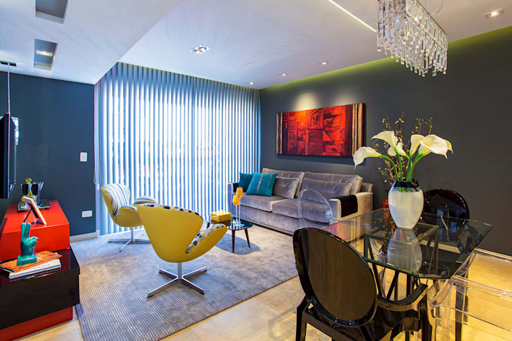 Living Colours: Salas de estar modernas por Lo. interiores
