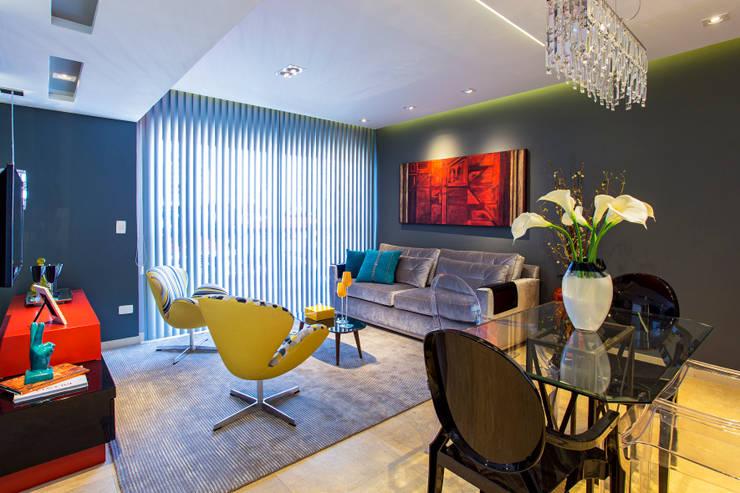 Гостиная в . Автор – Lo. interiores
