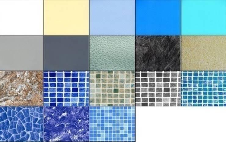 Gama de colores RENOLIT ALKORPLAN: Piscinas de estilo  de RENOLIT Ibérica