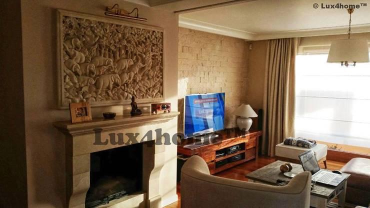 Obrazy z kamienia - reliefy na ściany: styl , w kategorii Sztuka zaprojektowany przez Lux4home™