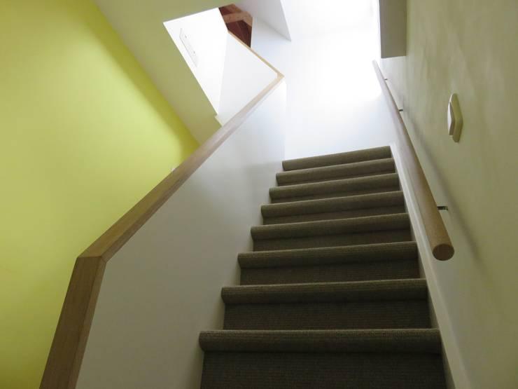 Nieuwe Trapgang:   door TTAB (Tjade Timmer Architect & Bouwadvies)
