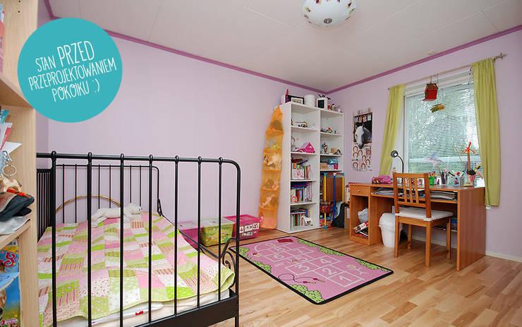 Zuzia's room Before 2: styl , w kategorii  zaprojektowany przez Tailormade,Skandynawski