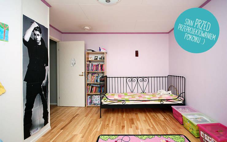 Zuzia's room Before 1: styl , w kategorii  zaprojektowany przez Tailormade,Skandynawski