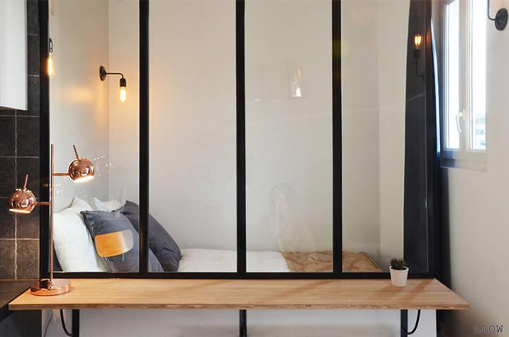 Verrière: Chambre de style de style Scandinave par LLOW (Like a Line on a Window)