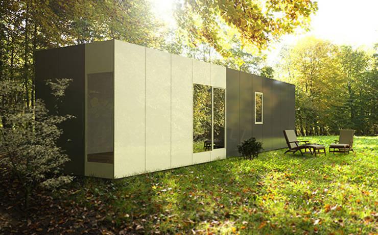 Casa Cube Basic de 36 metros cuadrados: Casas de estilo  de Casas Cube