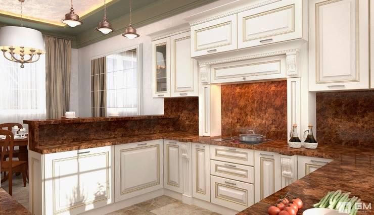 Интерьер дома в колониальном стиле : Кухни в . Автор – GM-interior