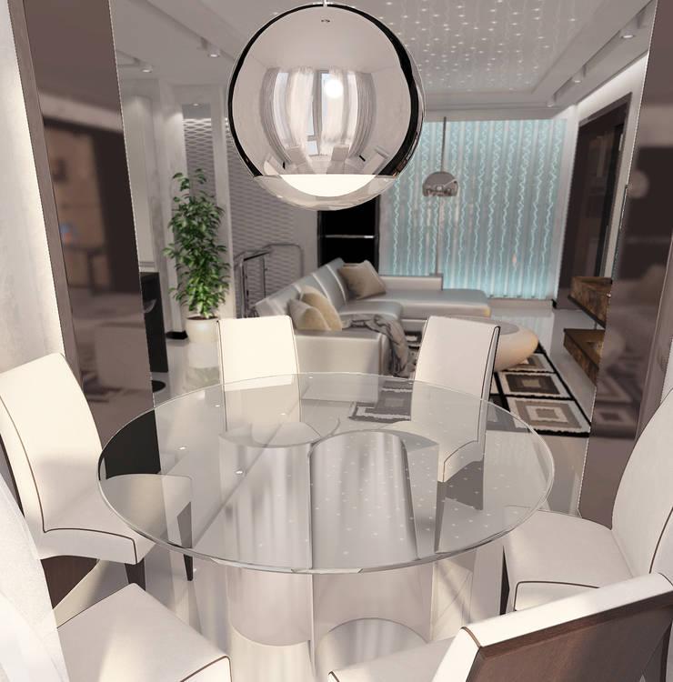 Столовые комнаты в . Автор – DIZajio